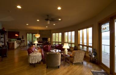interior deltec prefab home
