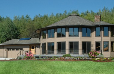 round energy efficient deltec homes