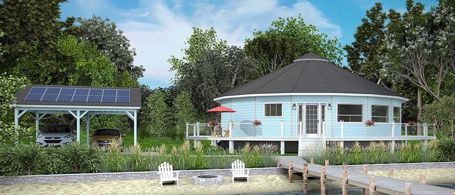 deltec homes renew collection net zero