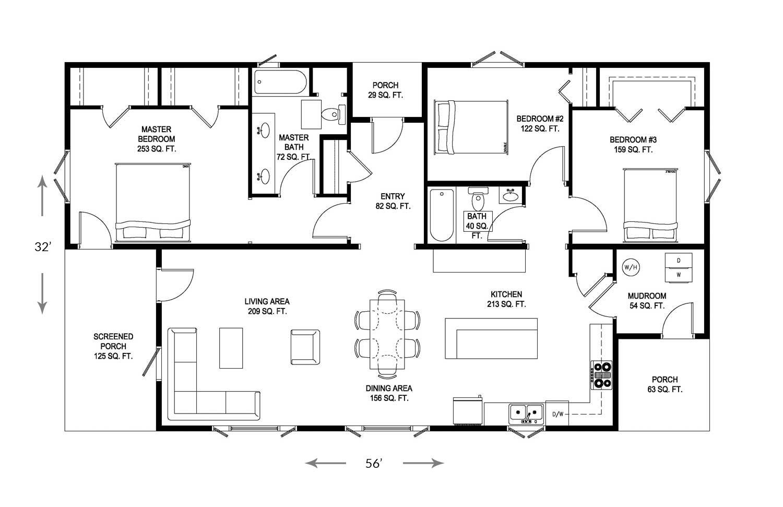 100 Net Zero Floor Plans One Bedroom 3d Floor Plan