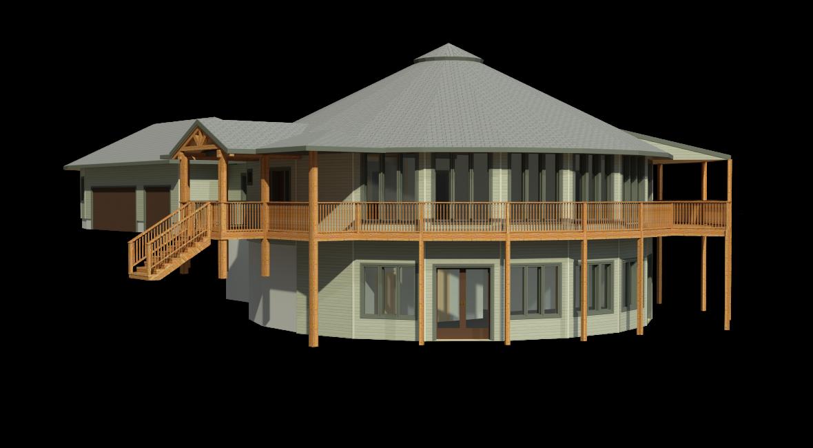 prefabricated round deltec home