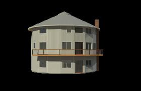 prefab round deltec home
