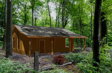 Deltec Homes camp cabin