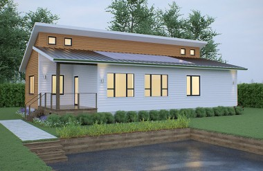 prefab net zero home deltec homes