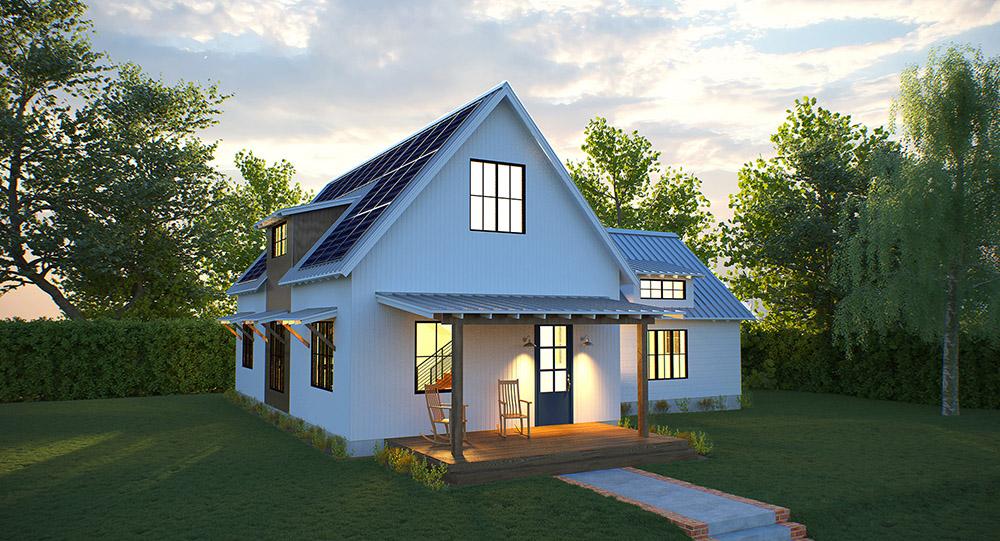 Solar Farmhouse Modern Farmhouse Modern Prefab