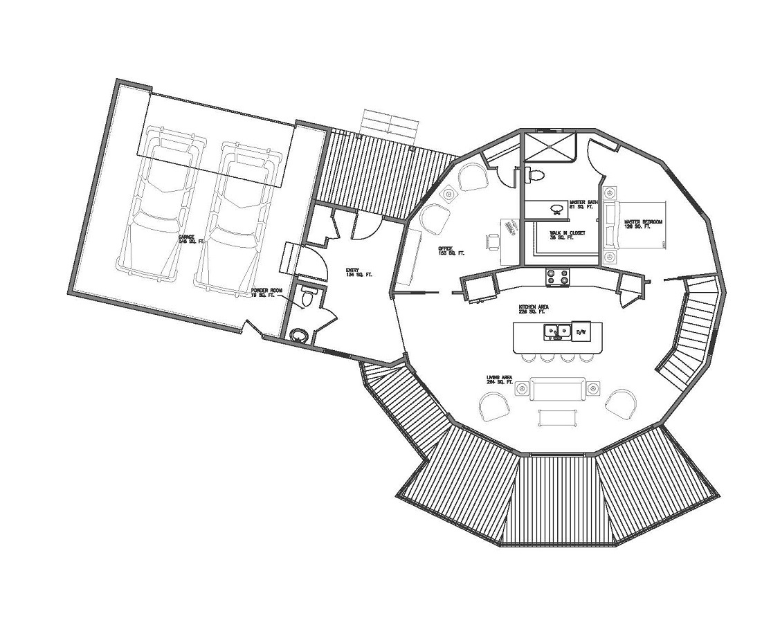 panoramic view round house blog deltec homes deltec model home floor plans