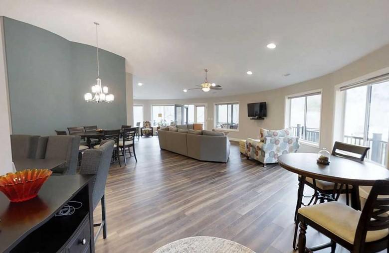 Open Floor Plan Designed for Family