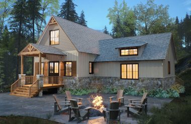 deltec homes mountain house