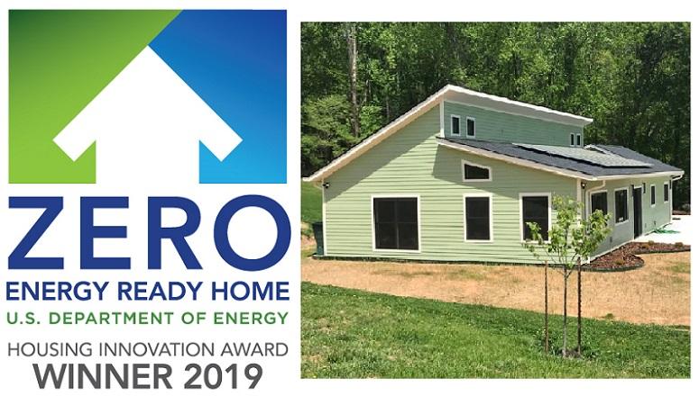 Deltec Home Wins Department of Energy Housing Innovation Award